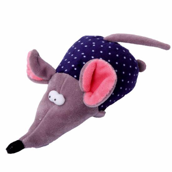 Hračka pro psa - myš pískací 17 cm