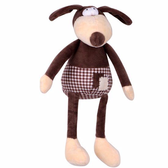 Hračka pes - plyšový pes pískacie 30 cm