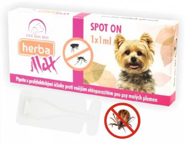Herba Line Spot on mini do 15 kg