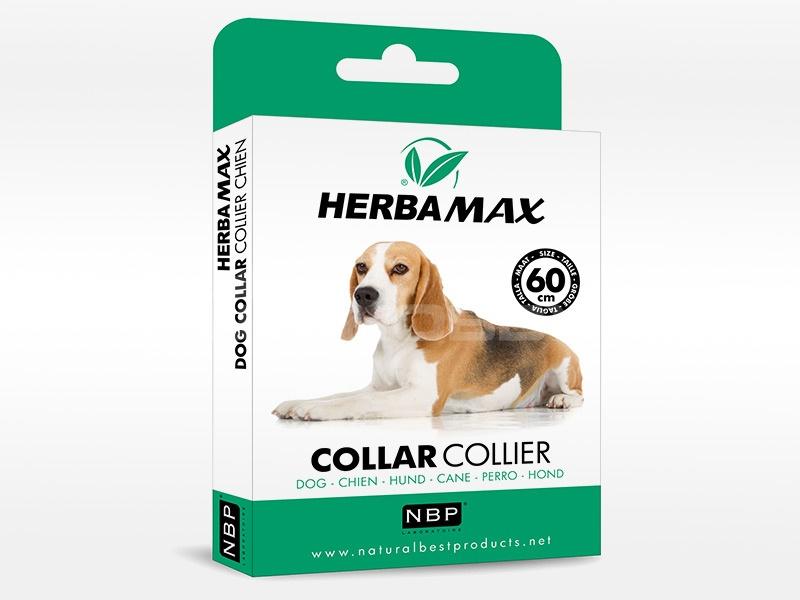 Herba Max Dog collar 60cm antip.obojek