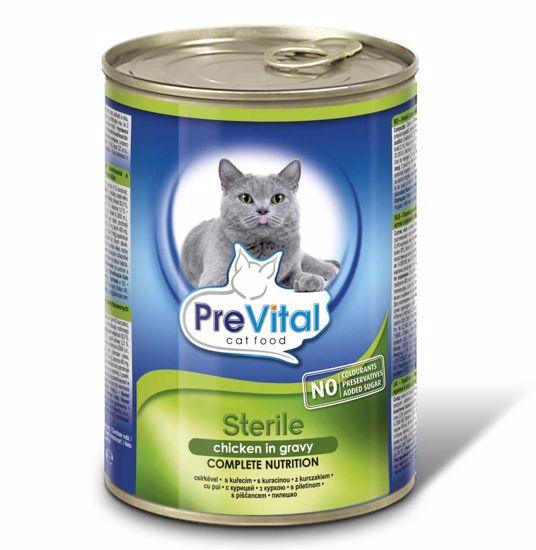 PreVital kousky kočka sterilní - kuře kousky 415g