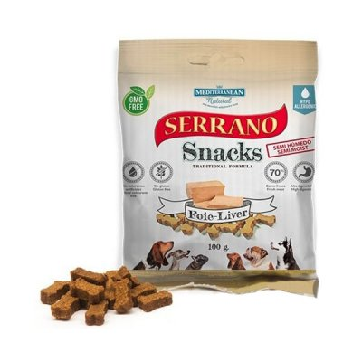 Serrano Snack for Dog Liver 100g
