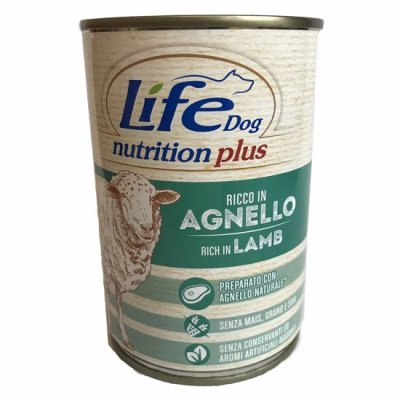 Lifedog lamb & rice 400g
