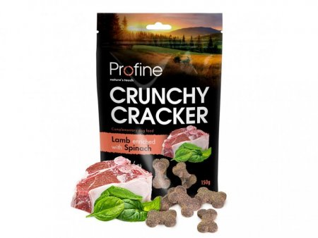 Profine Dog Crunchy Cracker Lamb enriched with Spinach 150 g