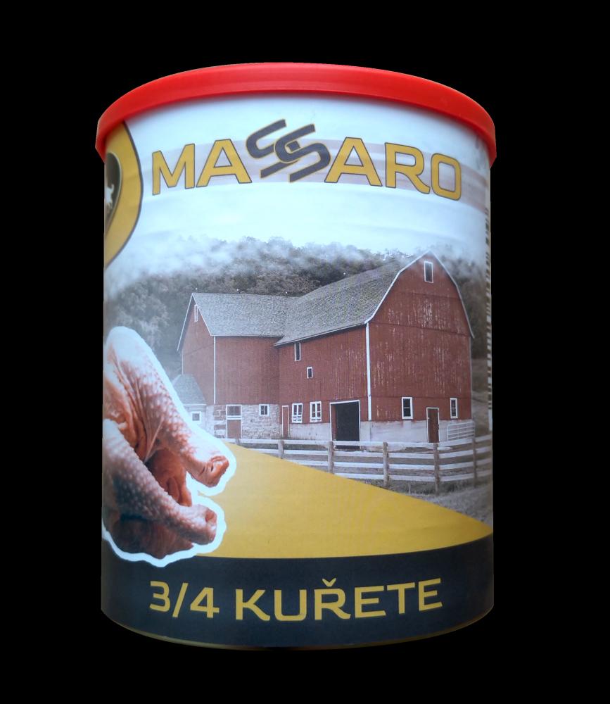 Konzerva Stardog Massaro 3/4 kurčaťa 800 g