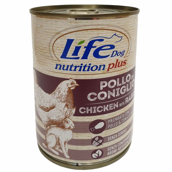 Lifedog chicken and rabbit 400g