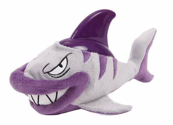 Plyšová hračka s gumou Žralok
