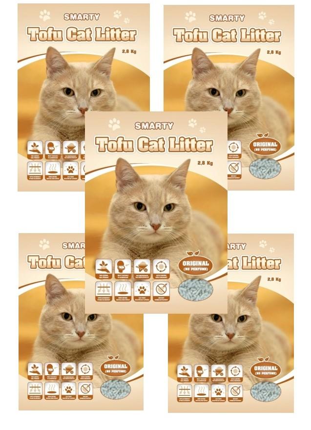 Smarty Tofu Cat Litter-Original-podstielka bez vône 6lt