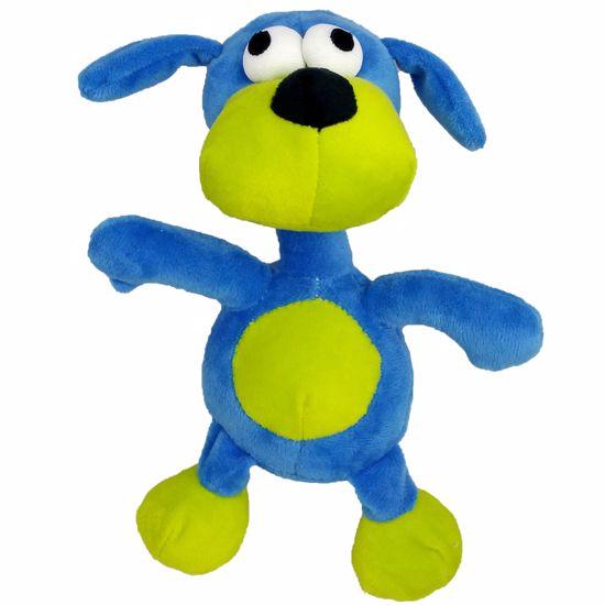 Hračka pro psy - plyš PES pískací 20 cm