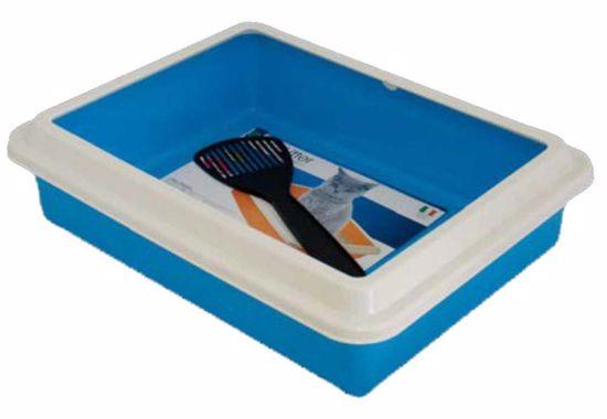 WC MAX s okrajom 43,5x34xh11cm + lopatka