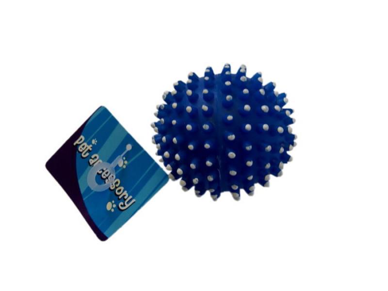 Pískací balónek s hroty - 7,5 cm