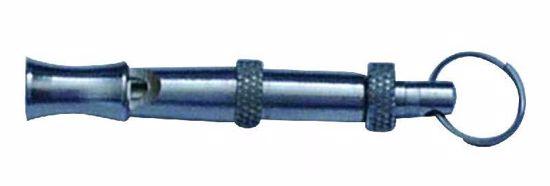 Píšťalka kovová nastaviteľný tón 5,4 cm