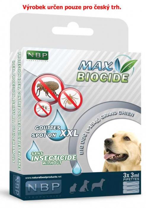 Max Biocide Spot-on Dog 3x3ml